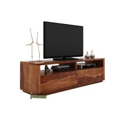 Marron Tv Unit (Teak Finish)