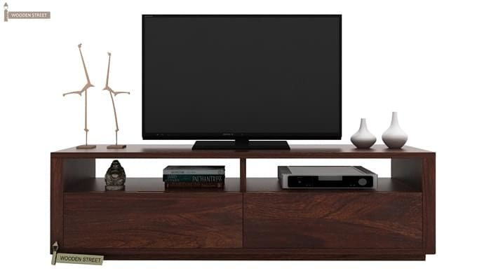 Marron Tv Unit (Walnut Finish)-1