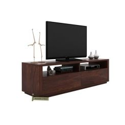 Marron Tv Unit (Walnut Finish)