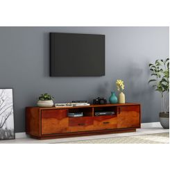 Medora Tv Unit (Honey Finish)