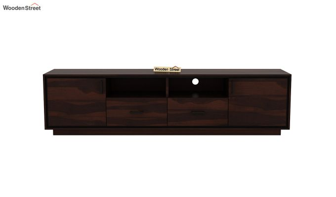 Medora Tv Unit (Walnut Finish)-3