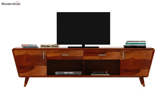 Melvina Tv Unit (Honey Finish)-3