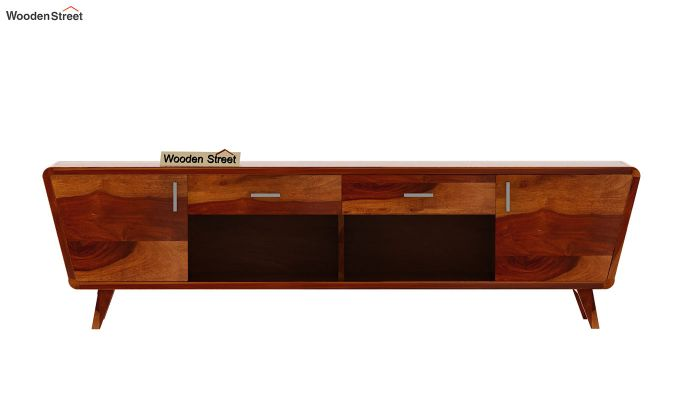 Melvina Tv Unit (Honey Finish)-5