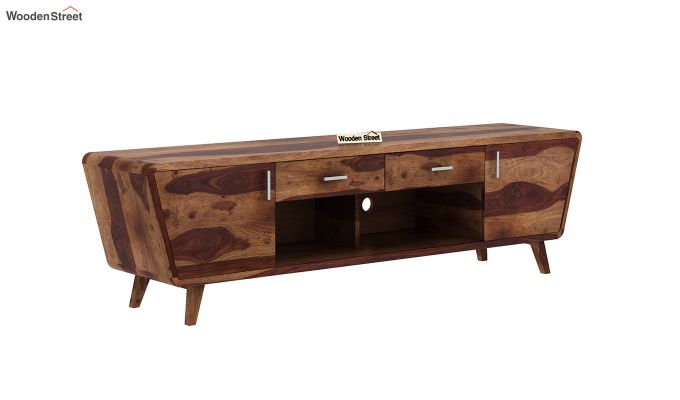 Melvina Tv Unit (Teak Finish)-2