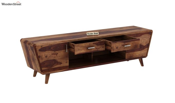Melvina Tv Unit (Teak Finish)-4