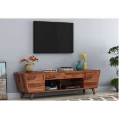 Melvina Tv Unit (Teak Finish)