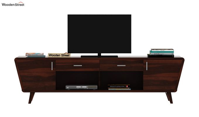 Melvina Tv Unit (Walnut Finish)-3