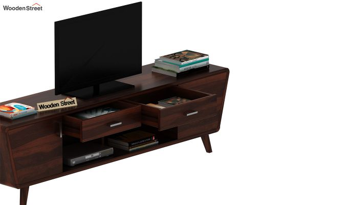 Melvina Tv Unit (Walnut Finish)-6