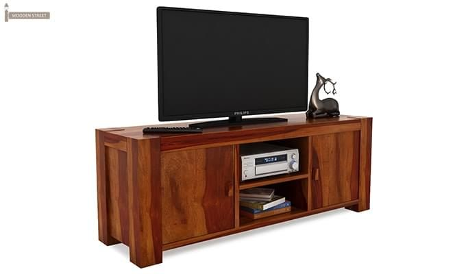 Morgan Tv Unit (Honey Finish)-2