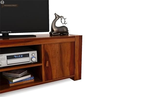 Morgan Tv Unit (Honey Finish)-5