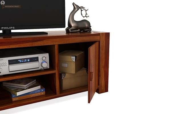 Morgan Tv Unit (Honey Finish)-4