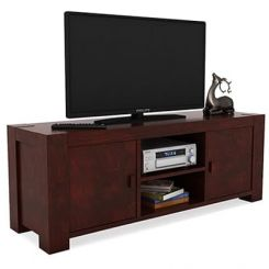 Morgan Tv Unit (Mahogany Finish)