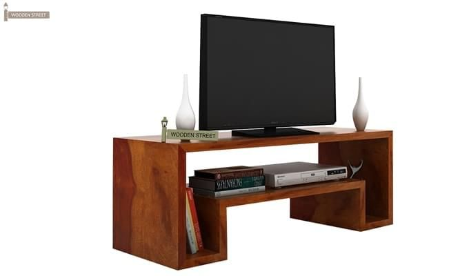 Morgen Tv Unit (Honey Finish)-3