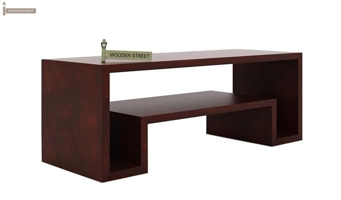 Morgen Tv Unit (Mahogany Finish)-4