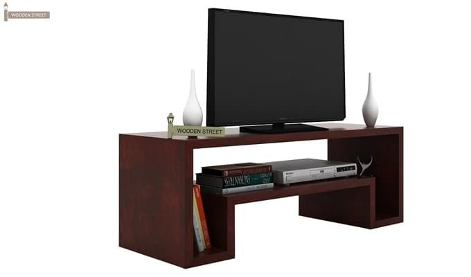 Morgen Tv Unit (Mahogany Finish)-1