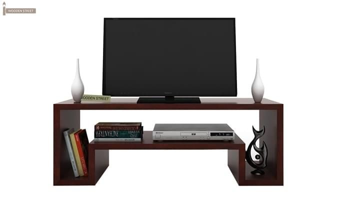 Morgen Tv Unit (Mahogany Finish)-2