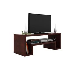 Morgen Tv Unit (Mahogany Finish)