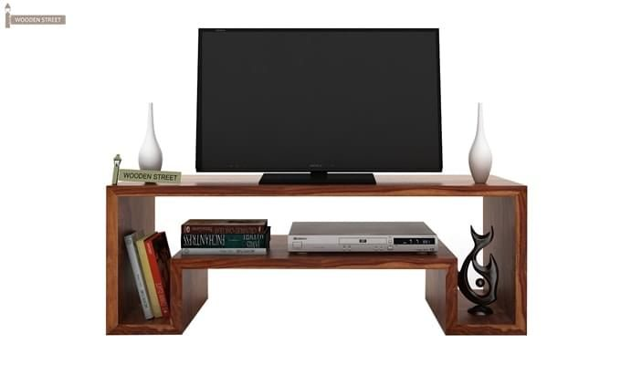 Morgen Tv Unit (Teak Finish)-1