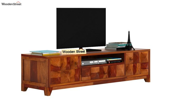 Morse Tv Unit (Honey Finish)-2
