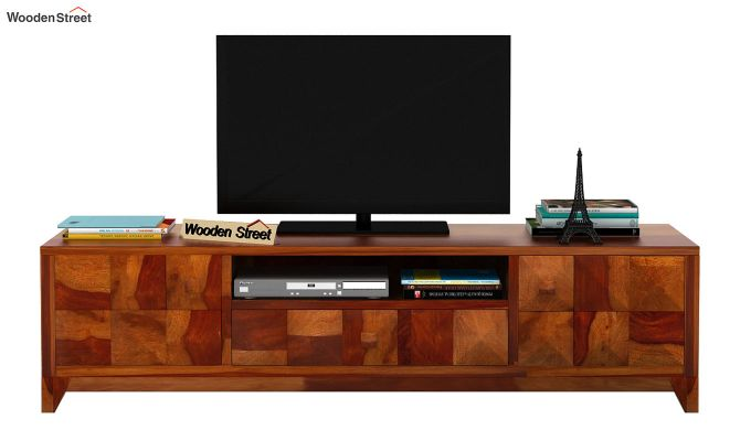 Morse Tv Unit (Honey Finish)-3