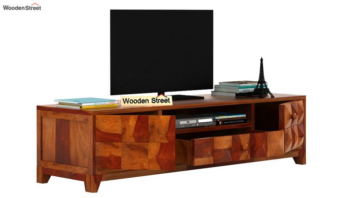 Morse Tv Unit (Honey Finish)-4