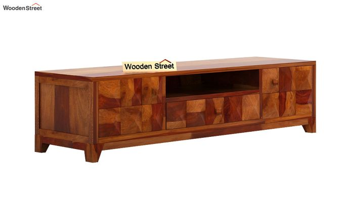 Morse Tv Unit (Honey Finish)-5