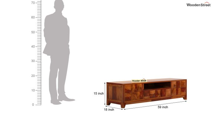 Morse Tv Unit (Honey Finish)-6