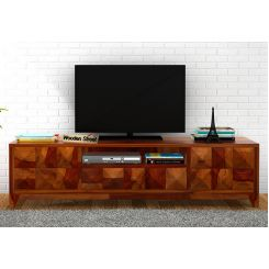 Morse Tv Unit (Honey Finish)