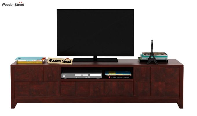 Morse Tv Unit (Mahogany Finish)-2