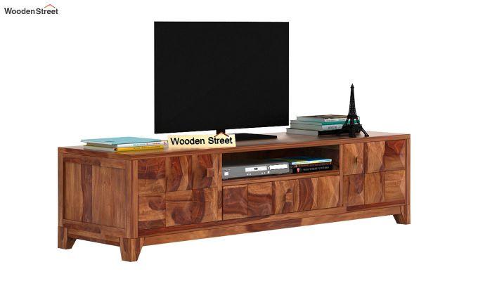 Morse Tv Unit (Teak Finish)-1