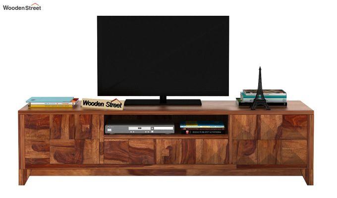 Morse Tv Unit (Teak Finish)-2