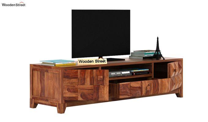 Morse Tv Unit (Teak Finish)-3
