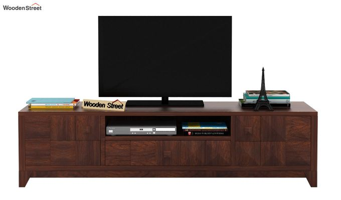 Morse Tv Unit (Walnut Finish)-2