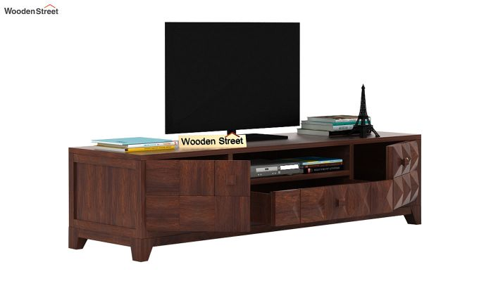 Morse Tv Unit (Walnut Finish)-3