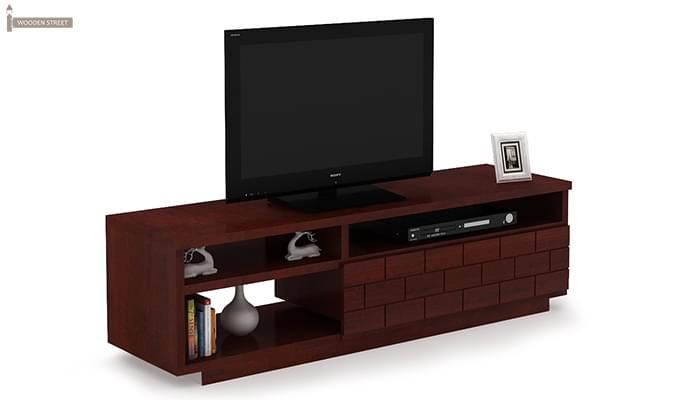 Natalia Tv Unit (Mahogany Finish)-2