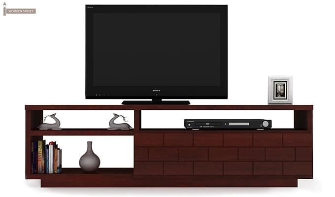 Natalia Tv Unit (Mahogany Finish)-3