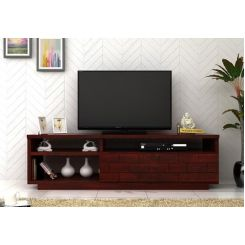 Natalia Tv Unit (Mahogany Finish)