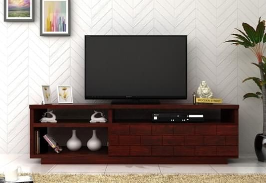 Tv Stand Designs Chennai : Tv unit buy wooden units stands cabinet online