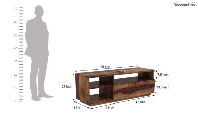 Natalia Tv Unit (Teak Finish)-5