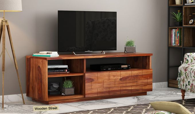 Natalia Tv Unit (Teak Finish)-1