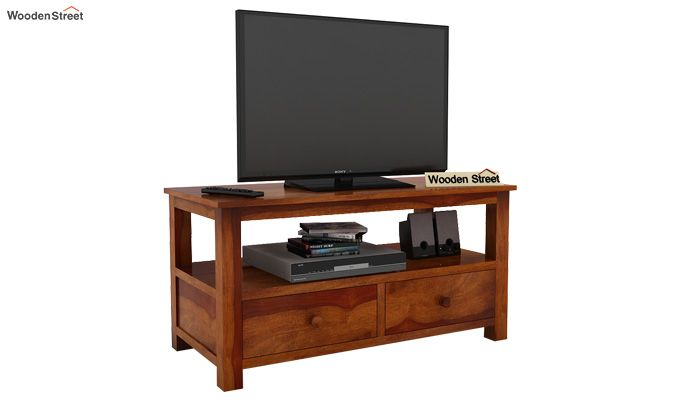 Parker Tv Unit (Honey Finish)-1