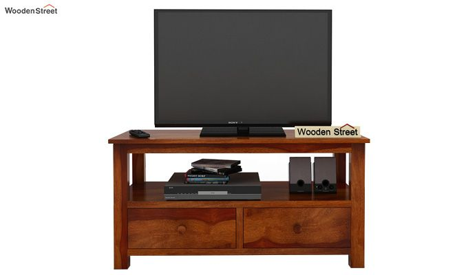 Parker Tv Unit (Honey Finish)-2