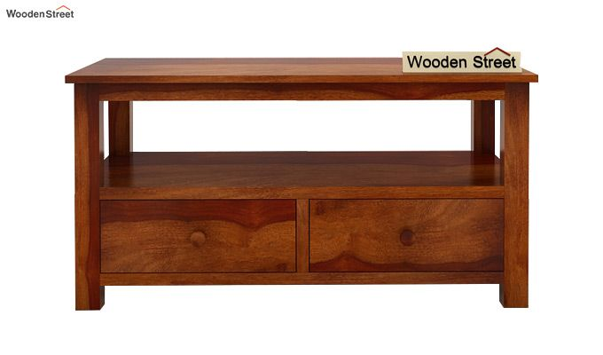 Parker Tv Unit (Honey Finish)-4