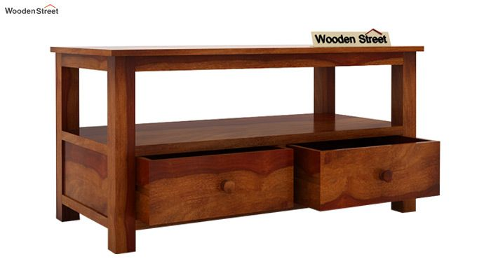 Parker Tv Unit (Honey Finish)-5