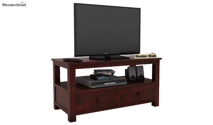Parker Tv Unit (Mahogany Finish)-1