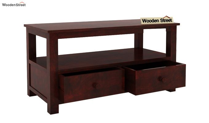 Parker Tv Unit (Mahogany Finish)-5