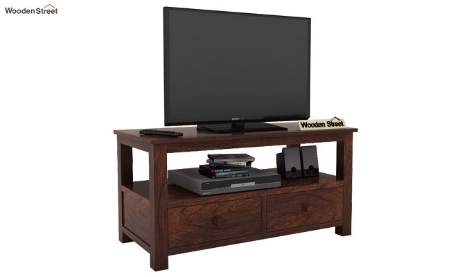 Parker Tv Unit (Walnut Finish)-2