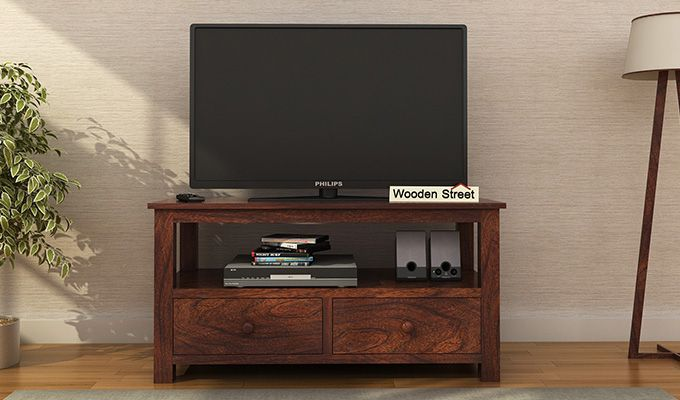 Parker Tv Unit (Walnut Finish)-1