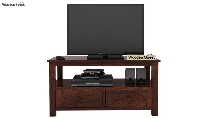 Parker Tv Unit (Walnut Finish)-3
