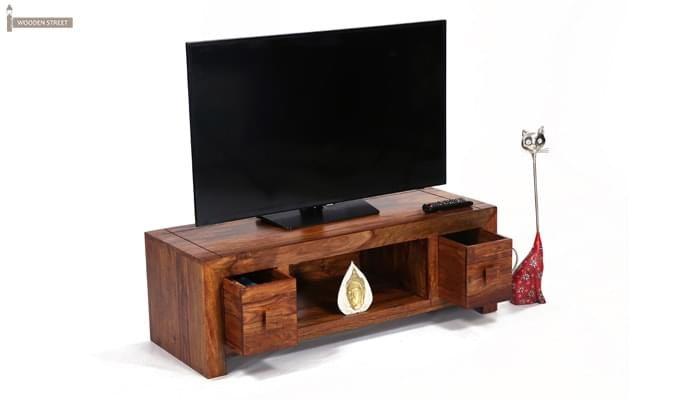 Pasifica Tv Stand (Teak Finish)-1